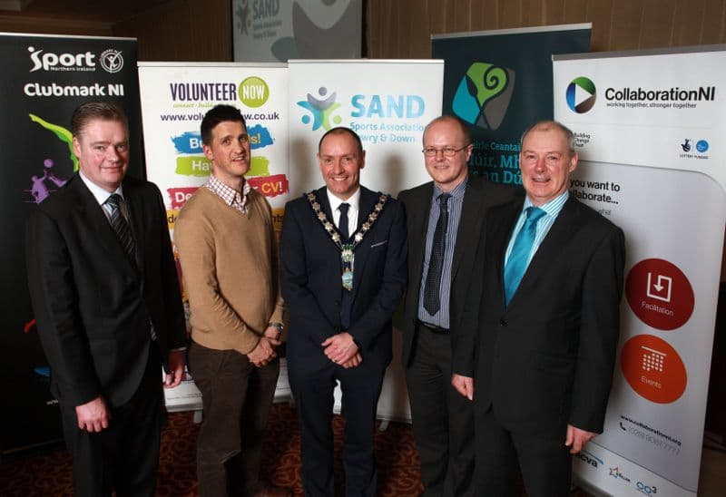 Official Launch of Sports Association Newry & Down (SAND) in Canal Court Hotel, Newry