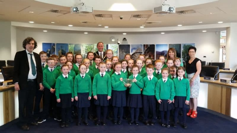 Chairperson Celebrates St Patrick's Primary School, Drumgreenagh Winning Choir of the Year