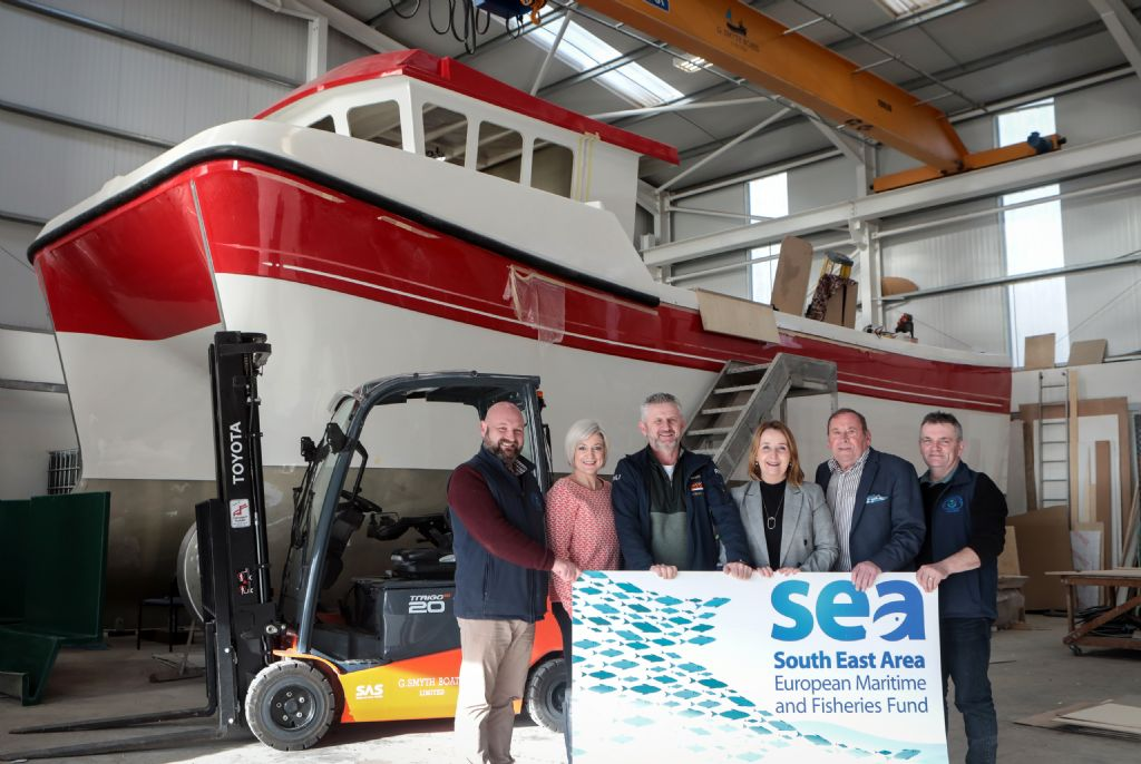 SEA FLAG Offers Grant Assistance to Local Kilkeel Company
