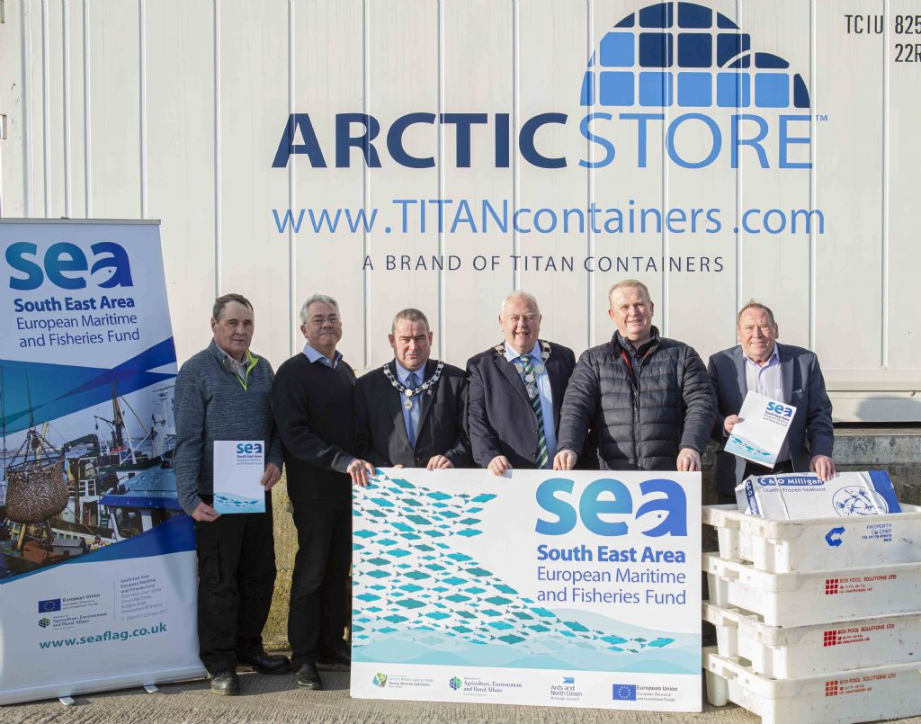 New Storage Facilities for Ardglass and Portavogie Harbours