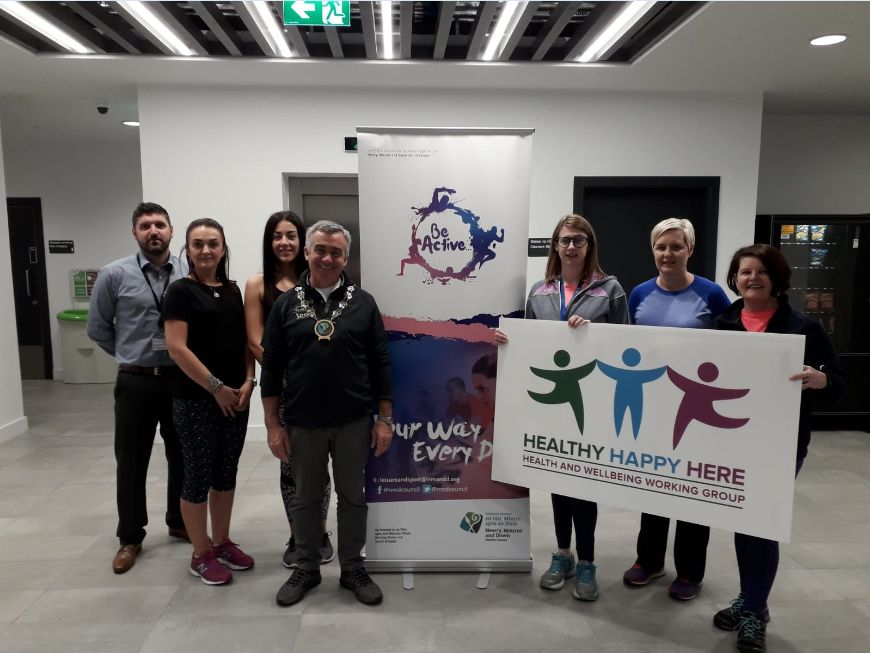 Council Launches 'Step into 2020' for Better Health