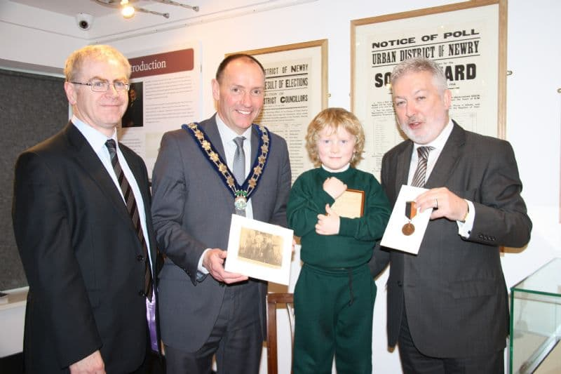 War of Independence Medal on Display at Newry and Mourne Museum