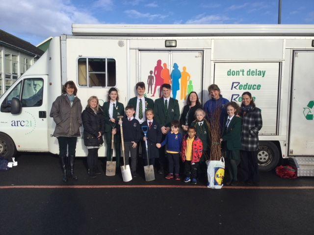 Downpatrick Schools Organise Community Tree Planting