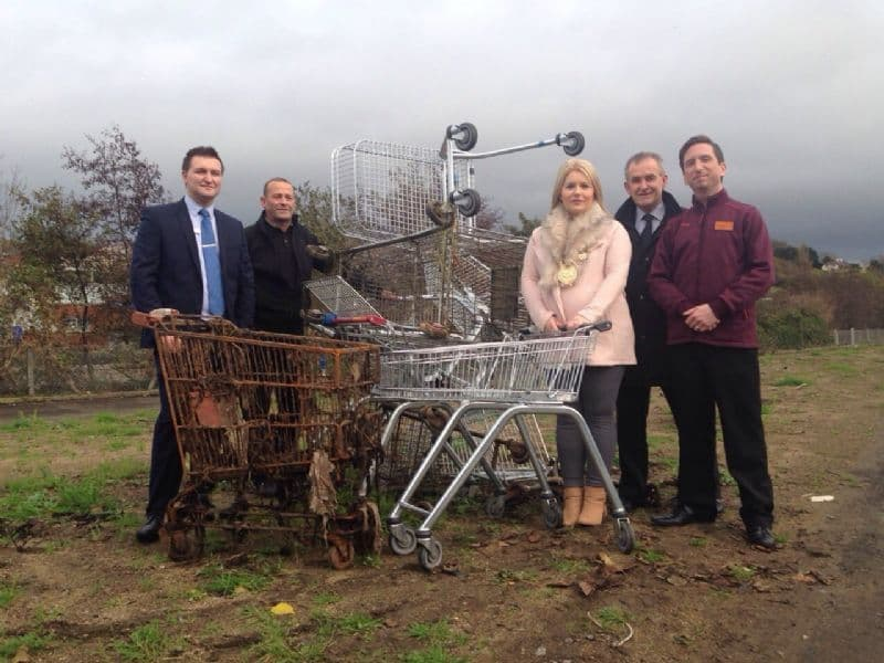 Removal of 200 Shopping Trolleys from Clanrye Riverbed