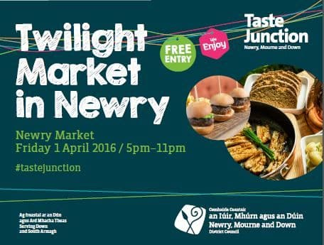 Experience Newry Market by Twilight