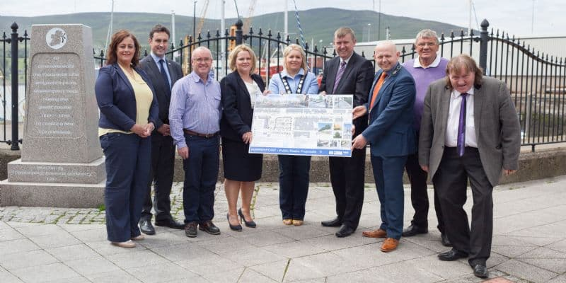 Storey announces £640,000 funding for the regeneration of Warrenpoint