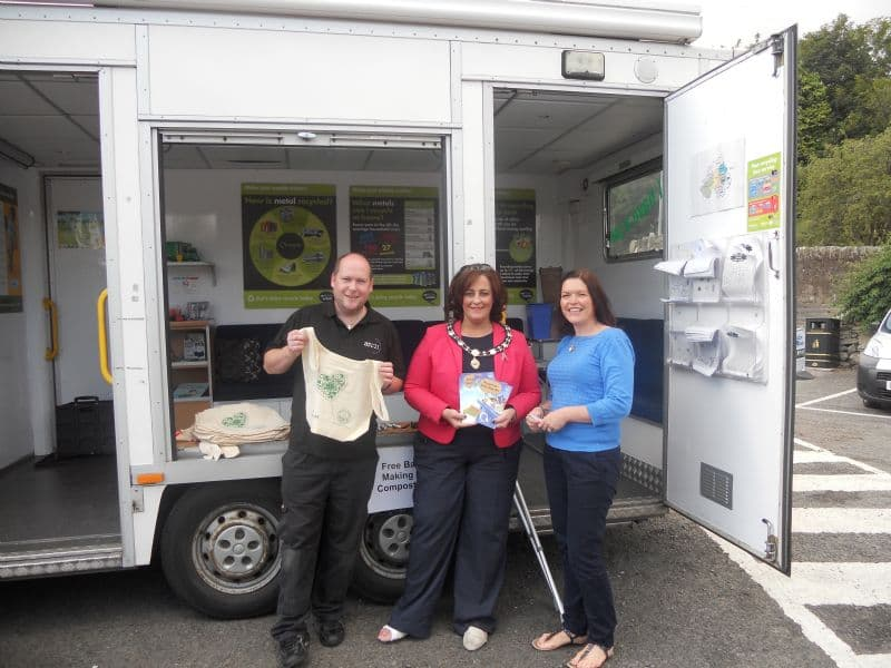 Recycle and Win at the Waste Beater Education Bus