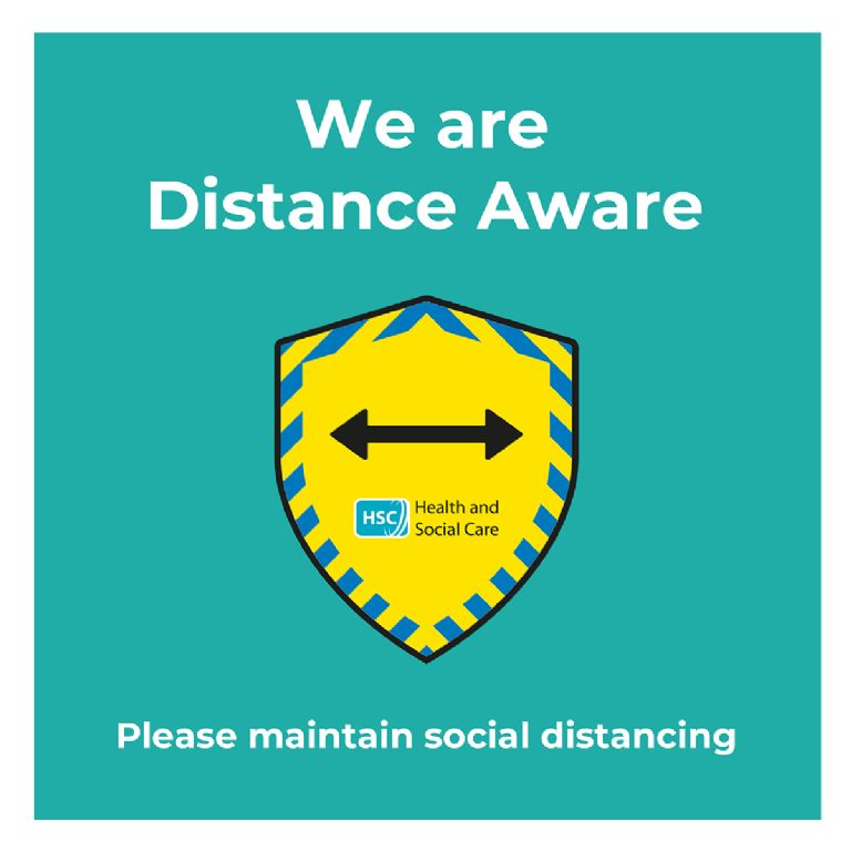 Chairperson Supports Distance Awareness Campaign