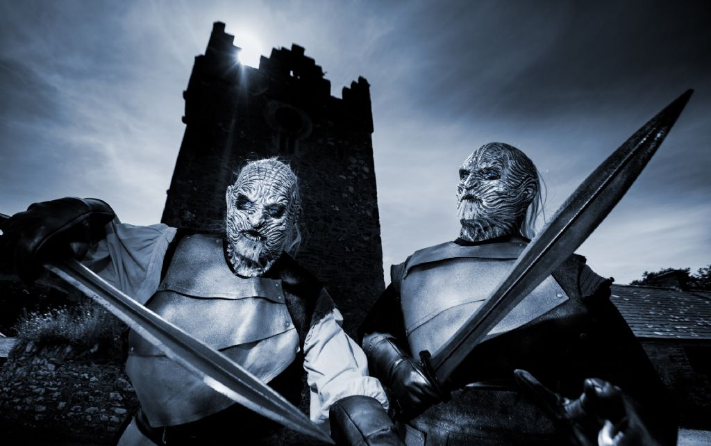 Watch out for the White Walkers: Visitors to Winterfell Festival at Castle Ward are warned to be wary following sightings of White Walkers in Westeros
