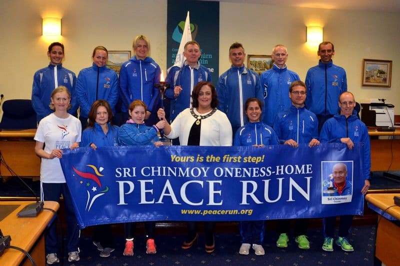 World's Largest Peace Relay Visits Newry