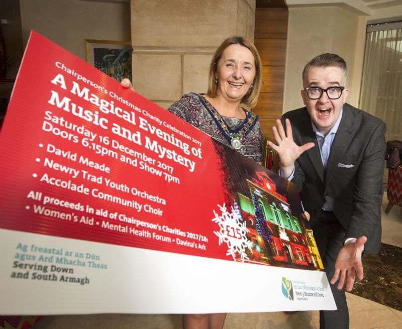 Mentalist, David Meade to Headline Chairperson's Christmas Charity Concert